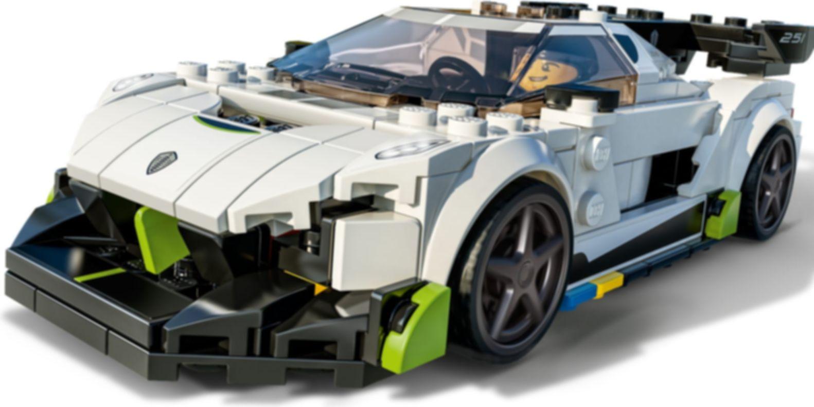 LEGO® Speed Champions Koenigsegg Jesko gameplay