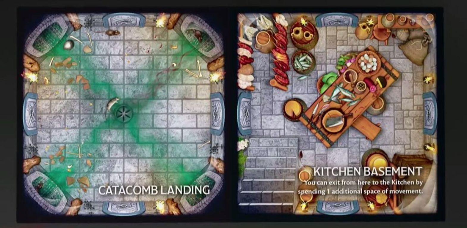 Betrayal at Baldur's Gate tiles