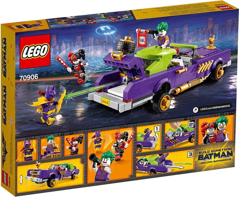 The Joker™ Notorious Lowrider back of the box