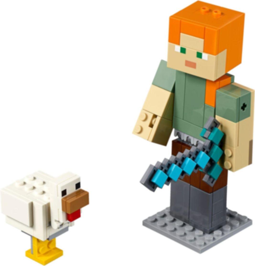 Alex BigFig with Chicken components