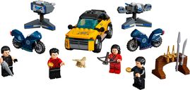 LEGO® Marvel Escape from The Ten Rings components