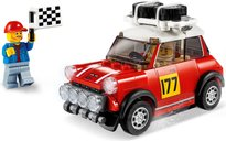 1967 Mini Cooper S Rally and 2018 MINI John Cooper Works Buggy components