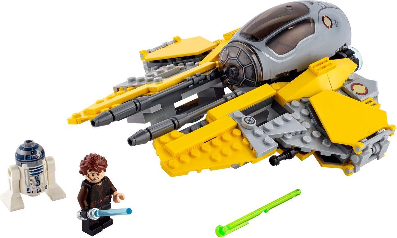 Anakin's Jedi™ Interceptor components