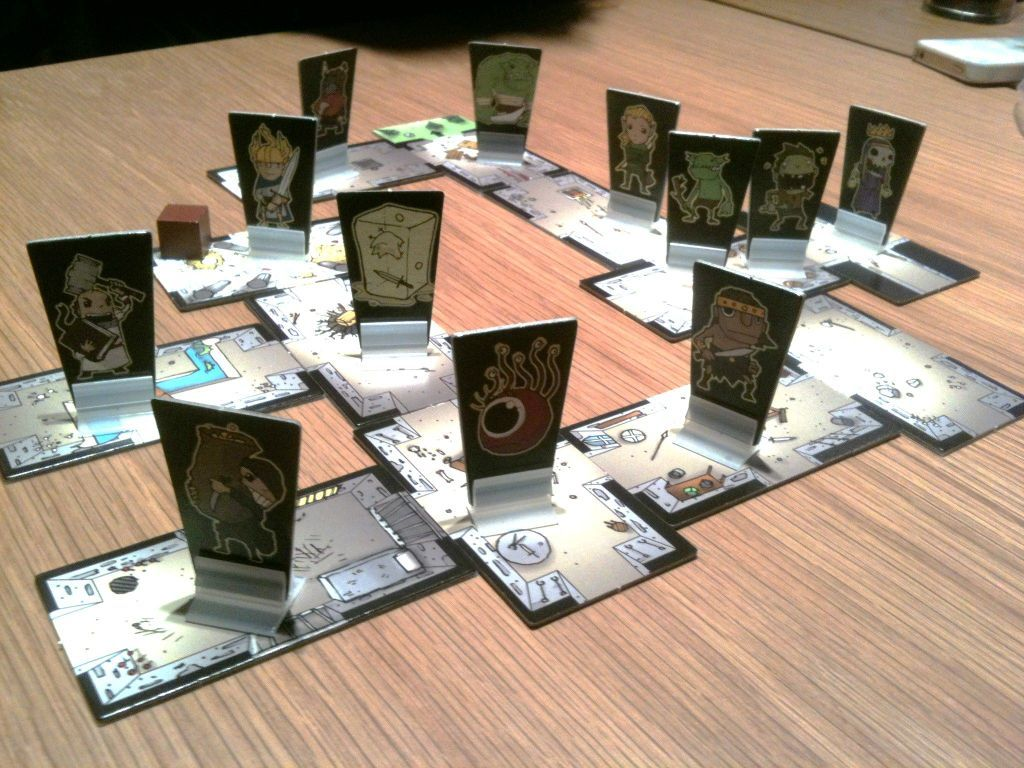 Rumble in the Dungeon components