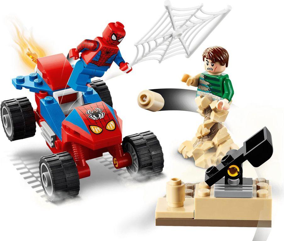 Spider-Man and Sandman Showdown gameplay