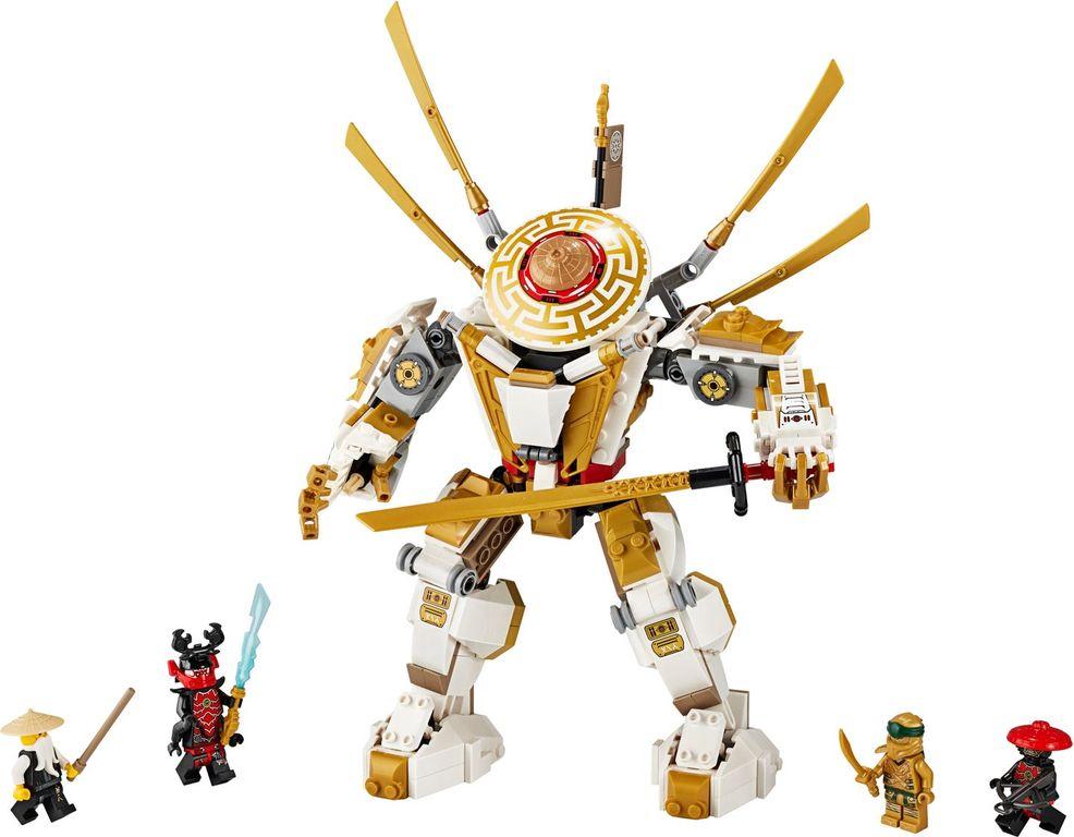 Golden Mech components
