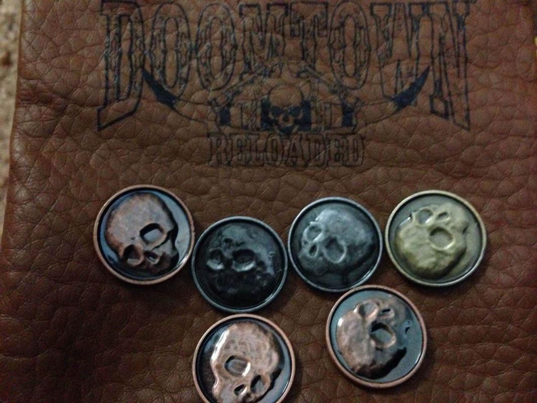 Doomtown: Reloaded coins