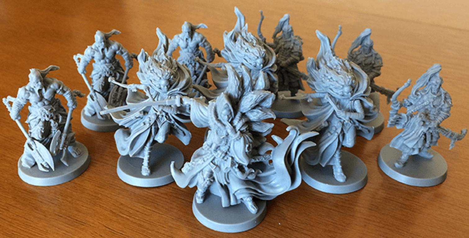 Rising Sun: Dynasty Invasion miniatures