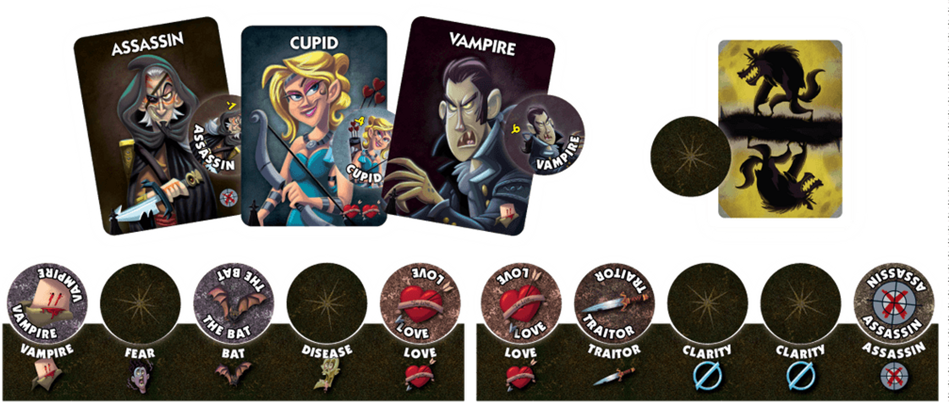 One Night Ultimate Vampire components