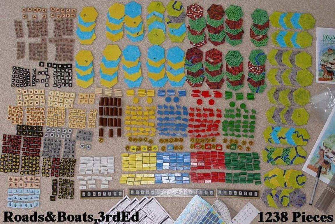 Roads & Boats components