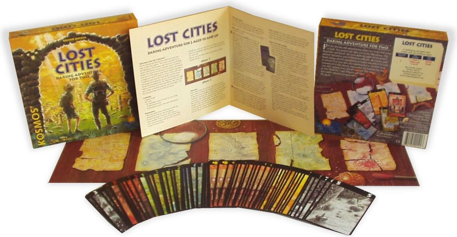 Lost Cities components