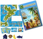 Carcassonne: South Seas components