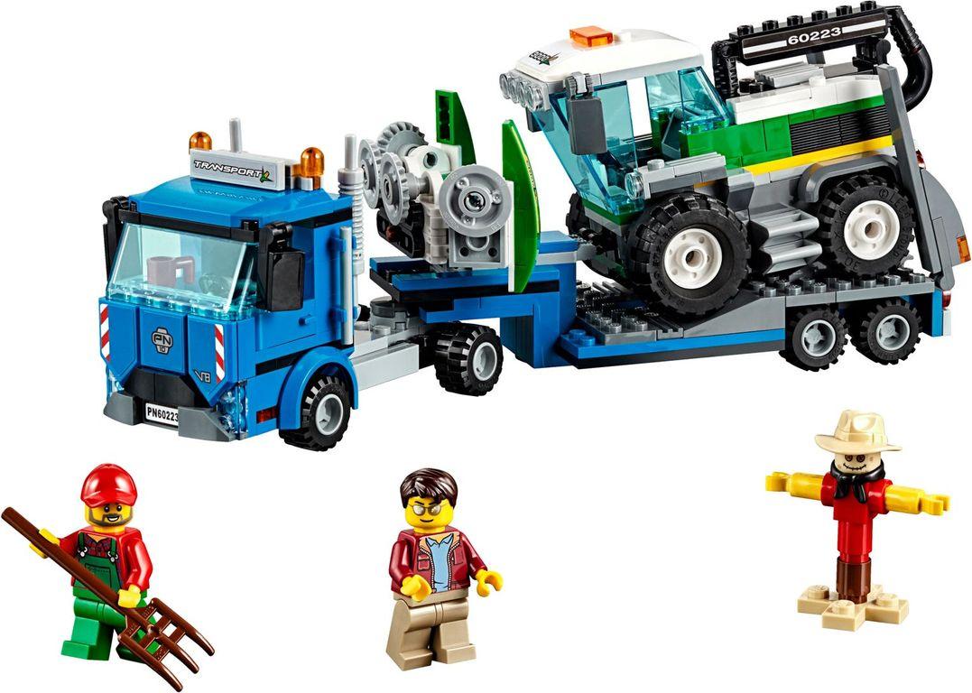 LEGO® City Harvester Transport components