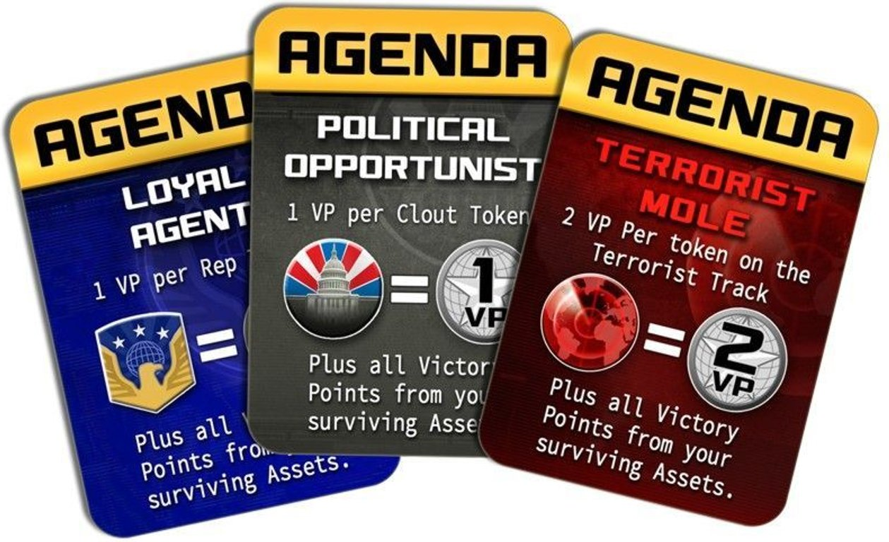 Homeland: The Game cards