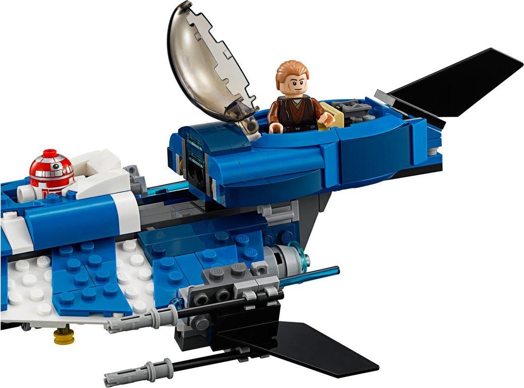 LEGO® Star Wars Anakin's Custom Jedi Starfighter components
