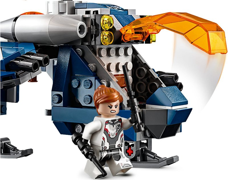 LEGO® Marvel Avengers Hulk Helicopter Rescue components