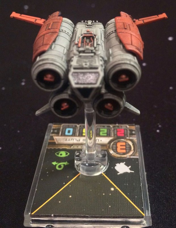 Star Wars: X-Wing Miniatures Game - Quadjumper Expansion Pack miniature