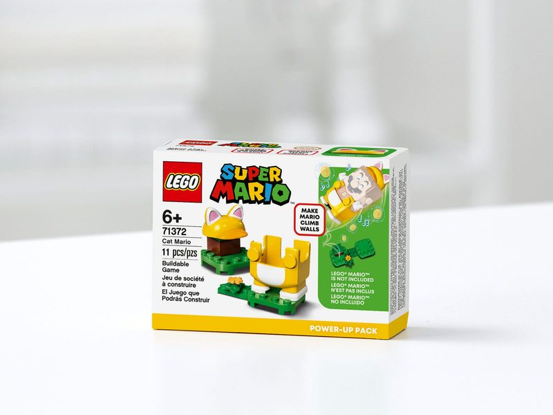 Cat Mario Power-Up Pack box