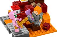 LEGO® Minecraft The Nether Fight gameplay