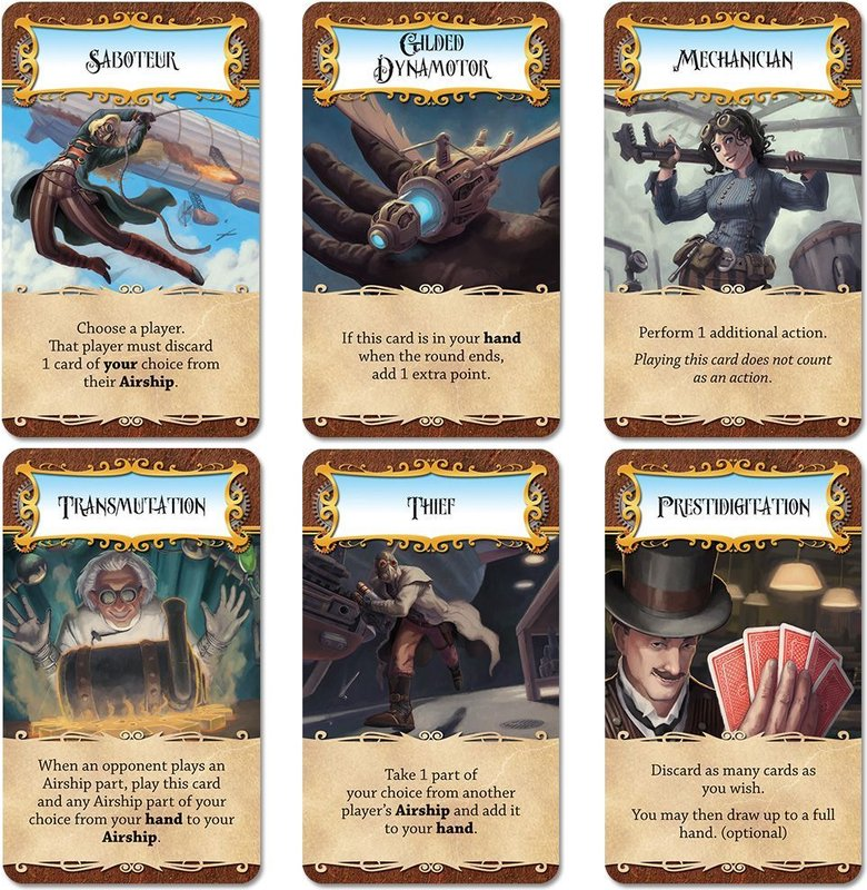 Dastardly Dirigibles cards