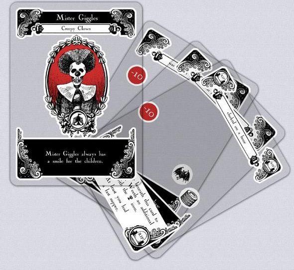 Gloom cards