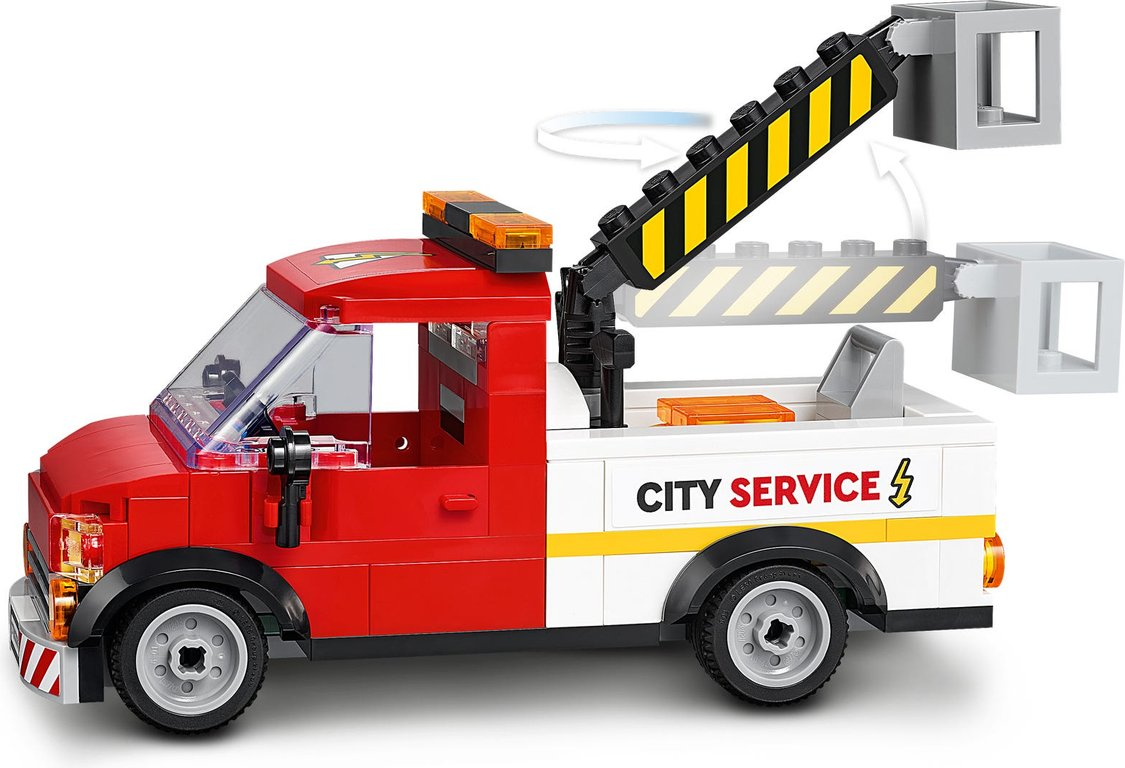 LEGO® City Shopping Street components