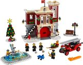 Winter Village Fire Station components