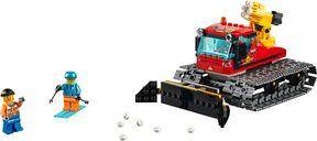 LEGO® City Snow Groomer components