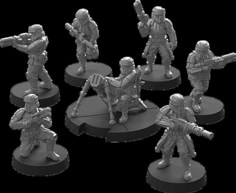 Star Wars: Legion – Imperial Shoretroopers Unit Expansion miniatures