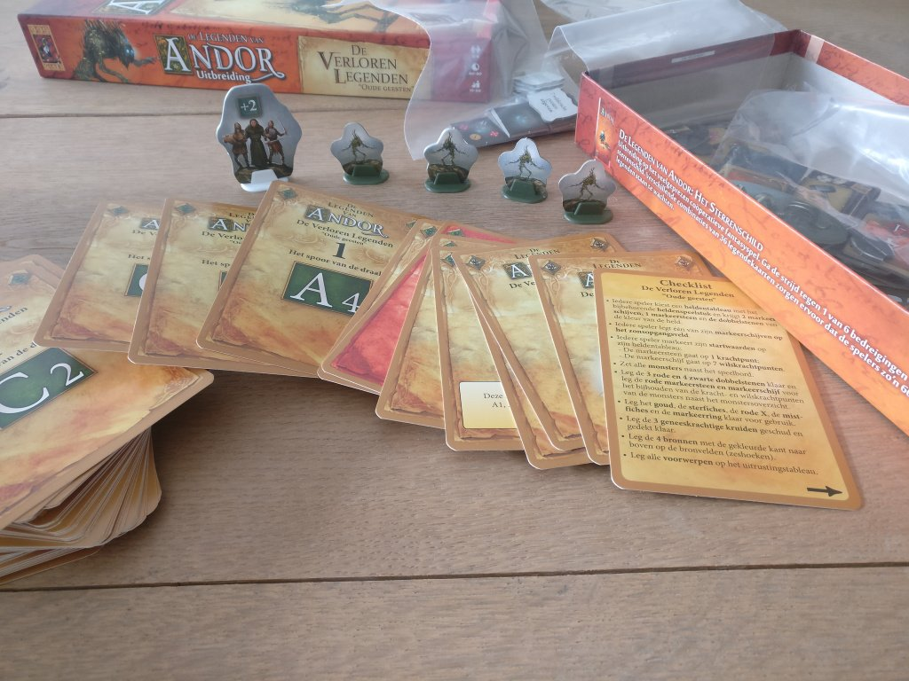 Die Legenden von Andor: Die verschollenen Legenden components