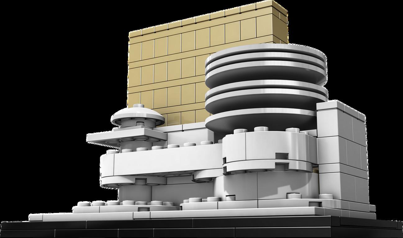 LEGO® Architecture Solomon R. Guggenheim Museum components