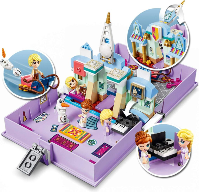 LEGO® Disney Anna and Elsa's Storybook Adventures gameplay