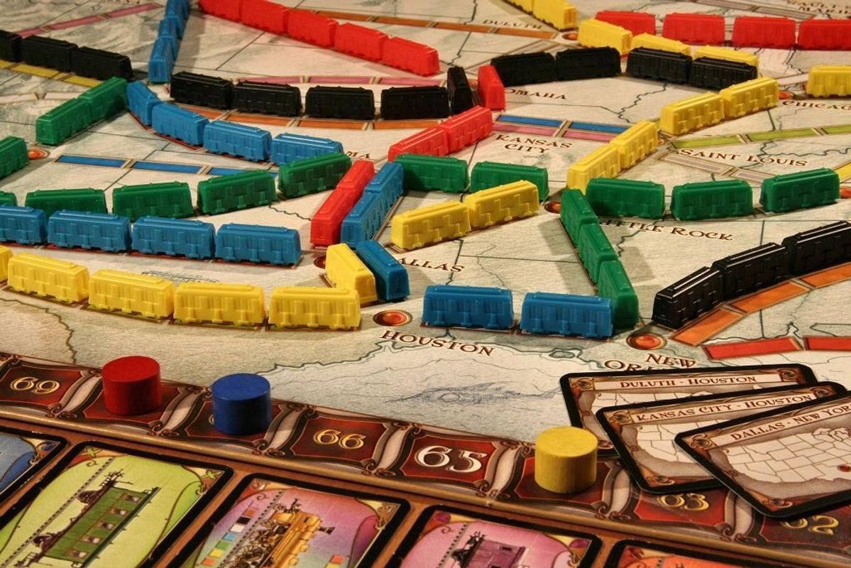 Ticket to Ride speelwijze