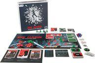 Die Hard: The Nakatomi Heist Board Game components