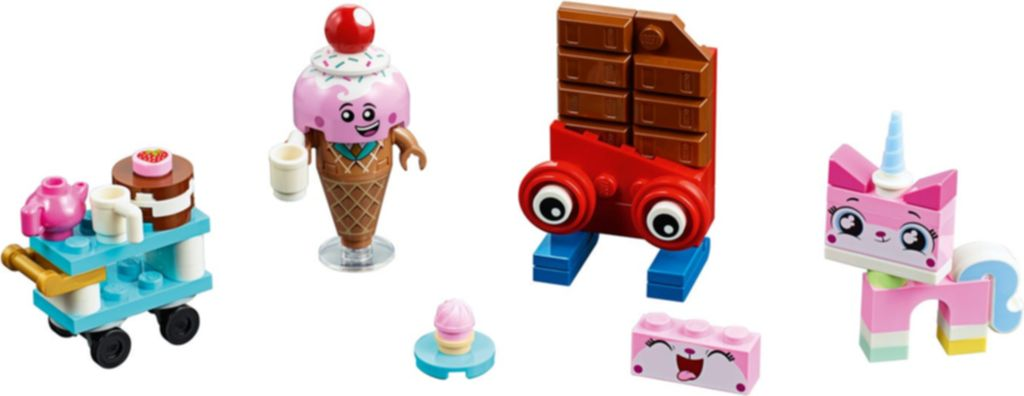 Unikitty's Sweetest Friends EVER! components