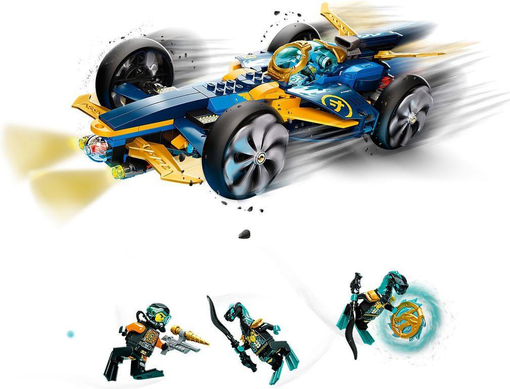 LEGO® Ninjago Ninja Sub Speeder gameplay