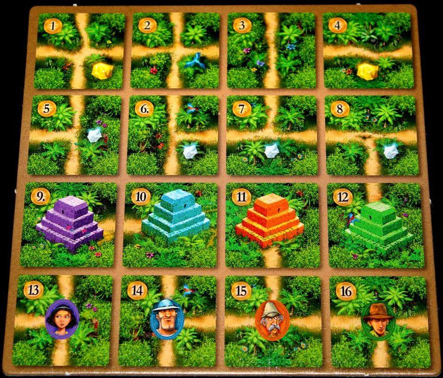 Karuba: The Card Game tiles