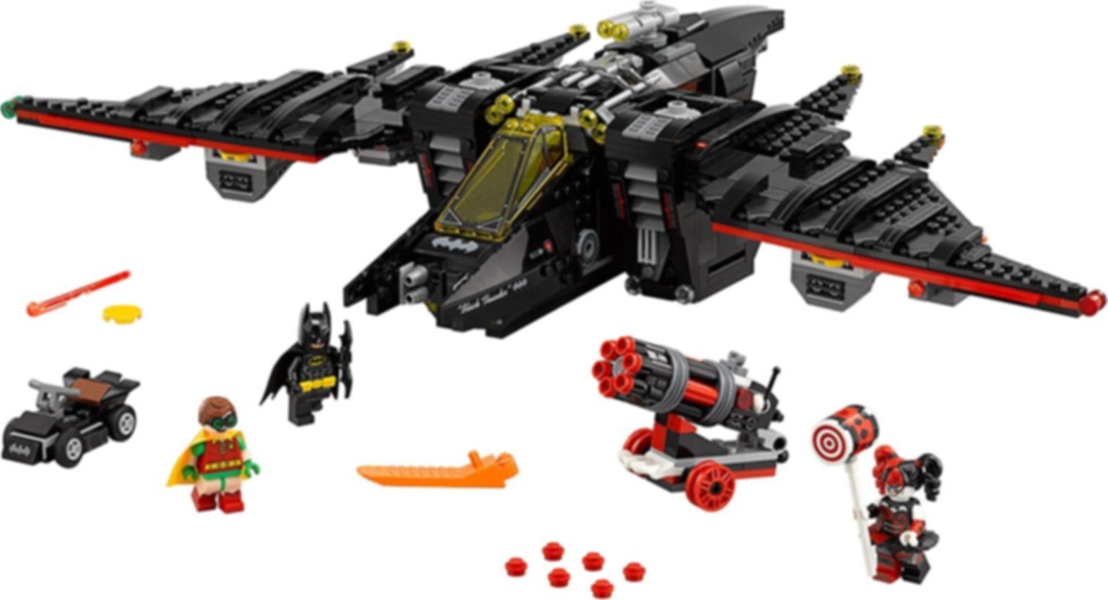 LEGO® Batman Movie The Batwing components