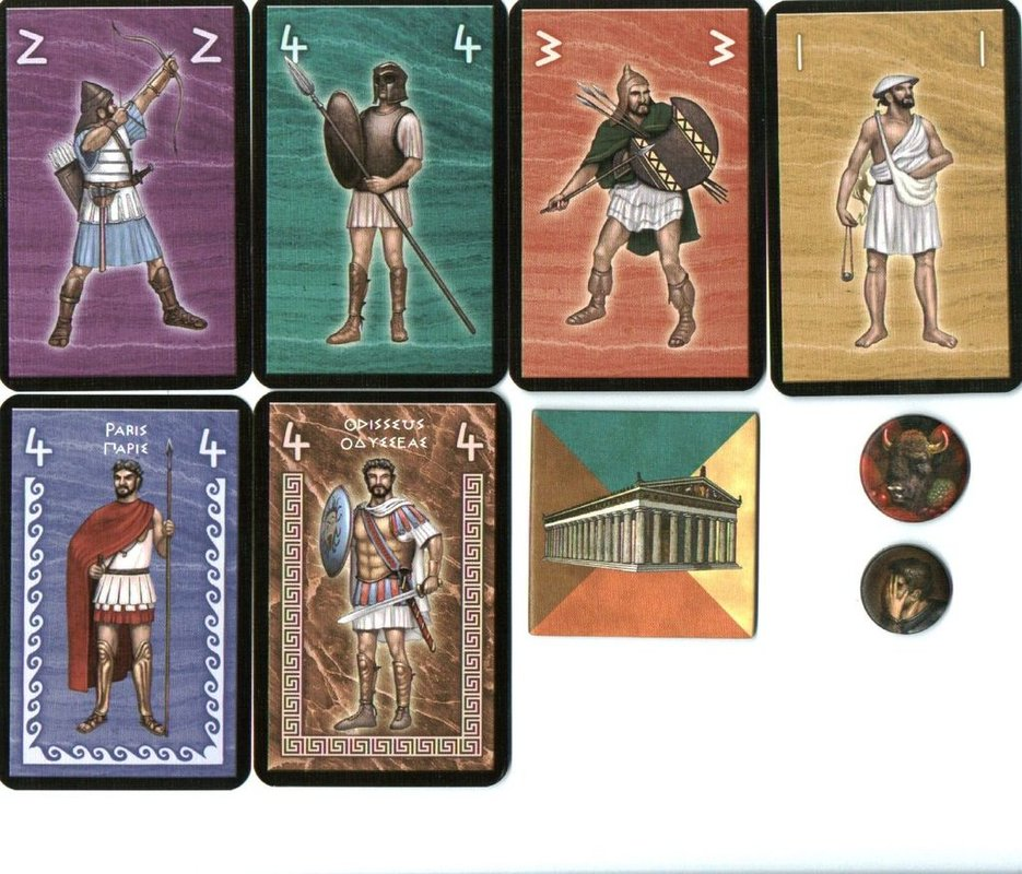 Hector and Achilles cards