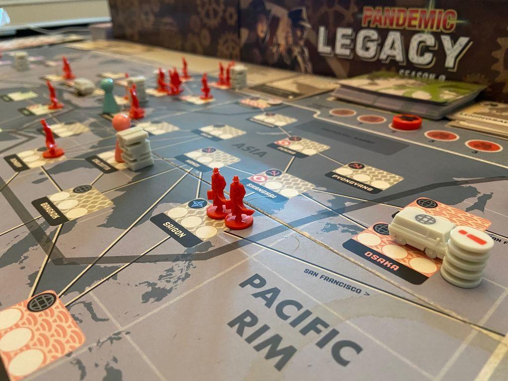 Pandemic Legacy: Season 0 gameplay