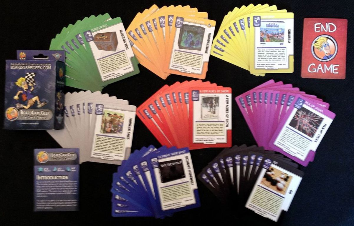 BoardGameGeek: The Card Game cards
