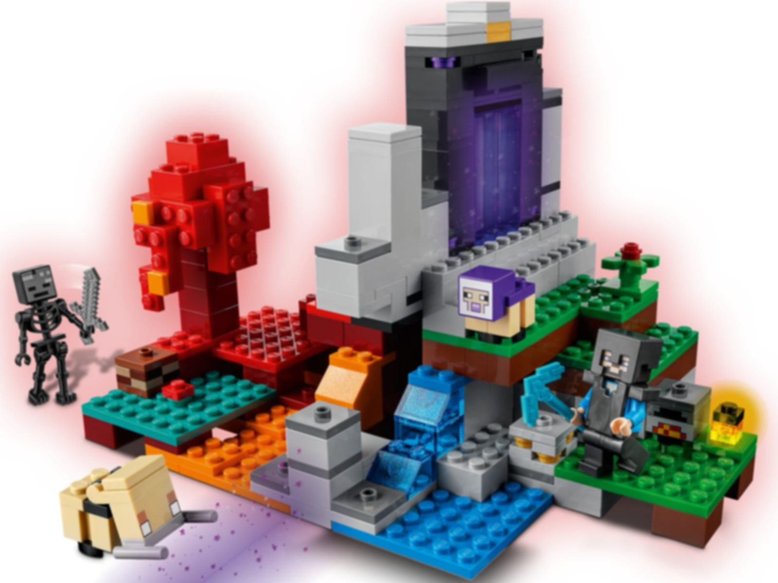 LEGO® Minecraft The Ruined Portal gameplay
