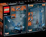 LEGO® Technic Crawler Crane back of the box
