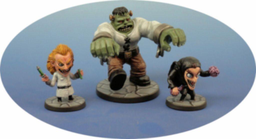 Arcadia Quest: Beyond the Grave miniatures