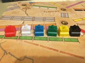 Ticket to Ride Map Collection: Volume 6 – France & Old West komponenten