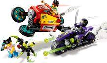 LEGO® Monkie Kid Monkie Kid's Cloud Bike gameplay