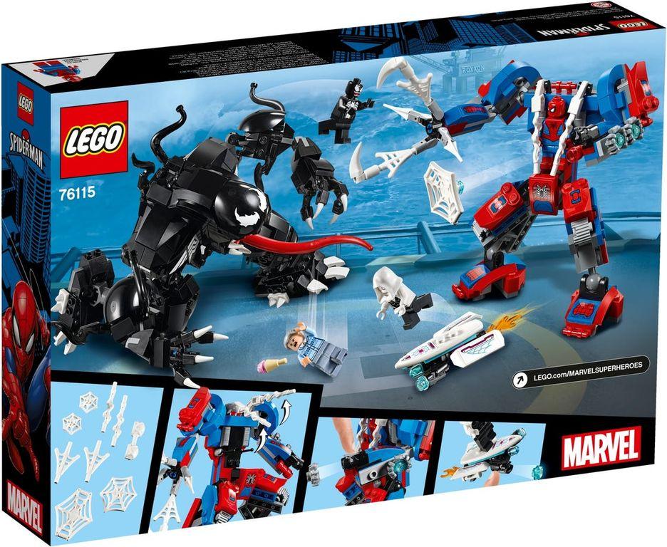 Spider Mech vs. Venom back of the box