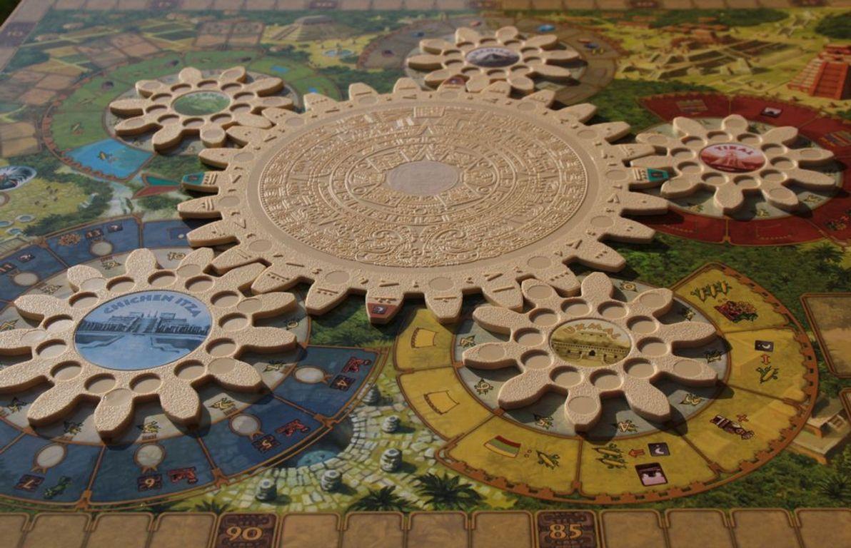 Tzolk'in: The Mayan Calendar game board