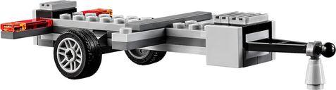 LEGO® City 4x4 with Catamaran components