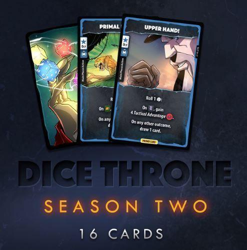 Dice Throne: Promo Card Set